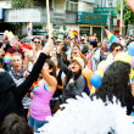 Gay parade — Stock Photo