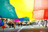 Веселый парад — Стоковое фото