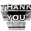 Thank you sign — Stock Photo #30452369