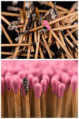 Matches set — Stockfoto