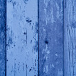 Blue color wood plank texture, background — Stock Photo