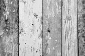 Blask and white color wood plank texture, background — Foto Stock