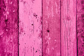 Pink color wood plank texture, background — ストック写真