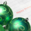 Stock Photo: Christmas ball, ornaments