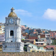 Quito old town historic center view, Ecuador. — Stock Photo