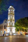Torre del reloj Guayaquil, Ecuador Malecon 2000 — Zdjęcie stockowe