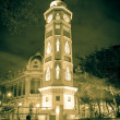 Torre del reloj Guayaquil, Ecuador Malecon 2000 — Stock Photo #43652225