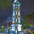 Torre del reloj Guayaquil, Ecuador Malecon 2000 — Stock Photo #43652231
