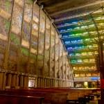 Interior of Rosario church in San Salvador — Stock Photo