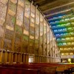 Interior Rosario church in San Salvador — Stock Photo