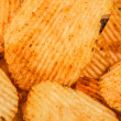 Potato chips snacks — Foto de Stock