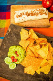 Burrito mexican food — Stock Photo