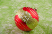 Christmas decoration ball — Stok fotoğraf