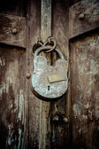 Old lock — Stockfoto