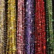 Colourful beads on market in Morocco — Stock Photo