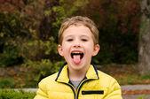 Zunge!!! — Stockfoto