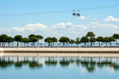 View on Tagus river in Lisbon, Portugal — Stock Photo