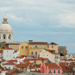 View on district Alfama in Lisbon — Stock Photo #27720337