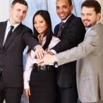 Portrait of a multi ethnic business team. — Stock Photo #20505973