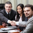 Making a deal on business meeting — Stock Photo