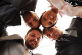 Mixed businessteam — Stock Photo
