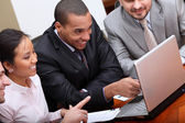 Gruppo aziendale diversificata — Foto Stock