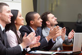 многоэтнический состав бизнес-группы — Стоковое фото