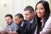 Grupo empresarial multiétnica — Foto de Stock