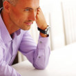 Handsome pensive man — Stock Photo #30024147