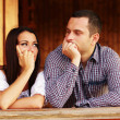 Young thinking couple — Stock Photo #31193615
