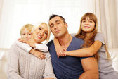 Portrait of family — Stock Photo