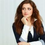 Thoughtful businesswoman — Stock Photo #36642747