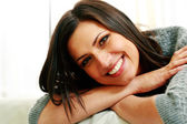 Young cheerful woman — Stock Photo