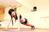 Sport mladá žena — Stock fotografie