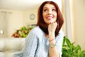 Portrait of a middle-aged woman — Foto de Stock