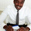 Handsome african businessman — Stock Photo #47777887