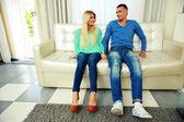 красивая молодая пара — Стоковое фото