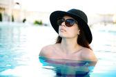 Beautiful girl in bikini — Stock Photo