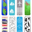 Stock Vector: Bookmarks