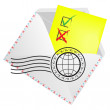 Royalty-Free Stock Imagen vectorial: Tick and cross signs.