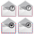 Royalty-Free Stock Vector Image: Signs in envelope.