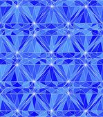 Blue diamond — Stock Vector