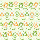 Tree and foliage — Stock Vector