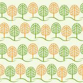 Tree and foliage — Stock Vector