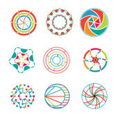 Abstract icons — Stock Vector