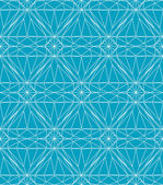 Blue line geometric diamond — Stockvector