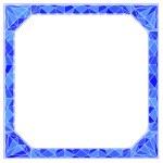 Frame with diamond — Stock Vector #39325395