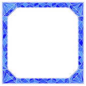 Frame with diamond — Stock Vector