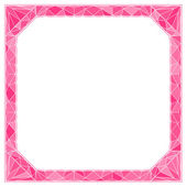 Frame with diamond — Vector de stock