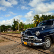 Vintage car in Cuba — Stock Photo #42708543